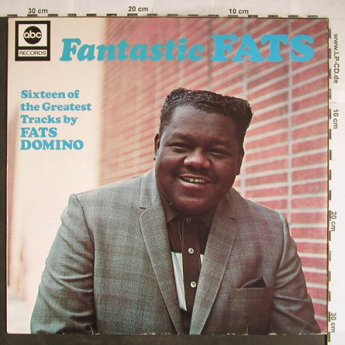 Domino,Fats: Fantastic Fats, ABC(27 376 XAT), D,Ri, 1976 - LP - H6660 - 7,50 Euro