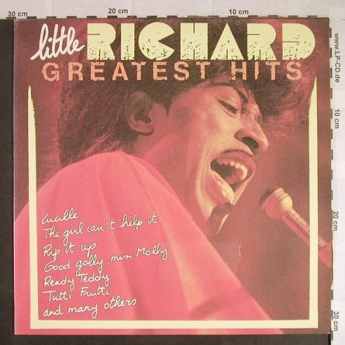 Little Richard: Greatest Hits, FUN(FUN 9017), B,  - LP - H669 - 6,00 Euro