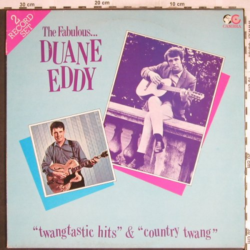 Eddy,Duane: Twangtastic Hits/Country Twang, Cambra(CR 065), UK, 1982 - 2LP - H7073 - 7,50 Euro
