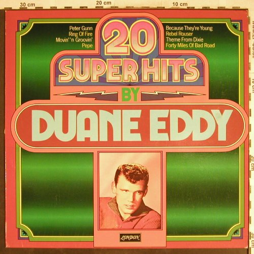 Eddy,Duane: 20 Hits By, London(6.23485 AP), D, 1978 - LP - H7074 - 5,00 Euro
