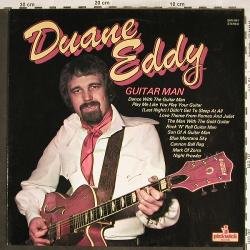 Eddy,Duane: Guitar Man, Pickwick(SHM 947), UK, 1975 - LP - H7075 - 5,50 Euro