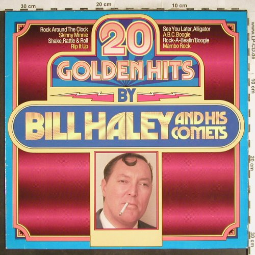 Haley,Bill & Comets: 20 Golden Hits By, Ri, MCA(201 381-360), D, 1976 - LP - H7077 - 4,00 Euro