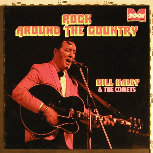 Haley,Bill: Rock Around The Country, Ri, 2001/Metronome(200.129), D, 1973 - LP - H7078 - 5,00 Euro