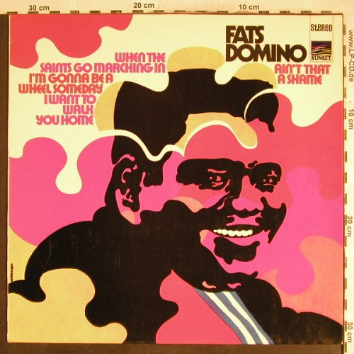 Domino,Fats: Ain't That A Shame, Sunset(SLS 50227 Z), D,  - LP - H7082 - 5,50 Euro