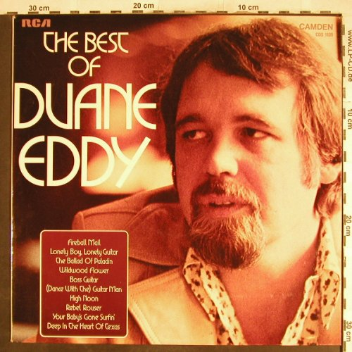 Eddy,Duane: The Best Of, RCA Camden(CDS 1109), UK, 1972 - LP - H7092 - 5,00 Euro