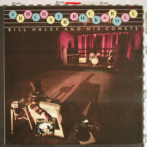 Haley,Bill & Comets: Armchair Rock'n Roll, Mono, m-/vg+, MCA(MFCM 2838), UK,  - LP - H7095 - 5,50 Euro