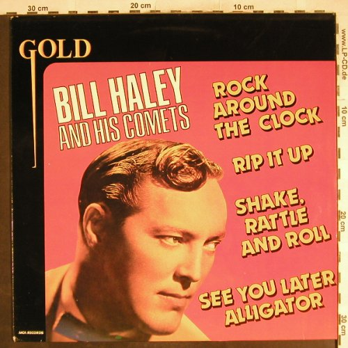 Haley,Bill & Comets: Gold '74, Ri, MCA(202 369), NL, 1980 - LP - H7116 - 5,00 Euro