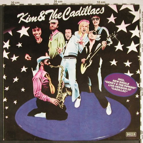 Kim & The Cadillacs: Same, Decca(6.23996 AO), D, 1979 - LP - H7117 - 6,00 Euro