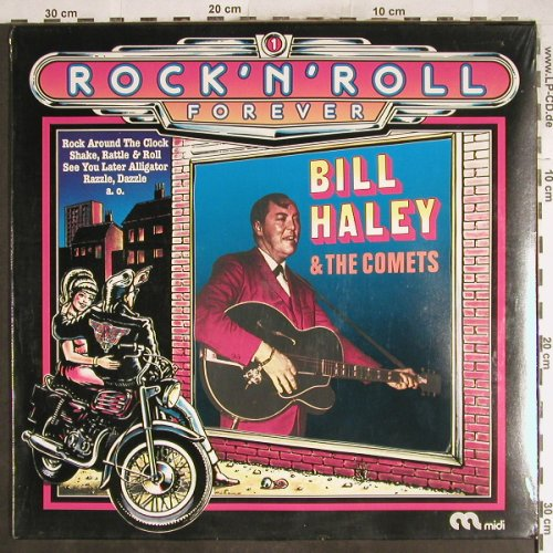 Haley,Bill & Comets: Rock'n'Roll Forever-Welcome Home, MIDI(MID 20110), D,FS-New, 1974 - LP - H7120 - 7,50 Euro