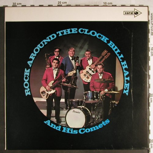 Haley,Bill & Comets: Rock Around The Clock, Ri, vg+/vg+, Coral(CP 55), UK,Mono, 1970 - LP - H7124 - 5,00 Euro