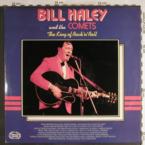 Haley,Bill & Comets: The King Of Rock and Roll, Hallmark(SHM 668/773/837), UK, 1971 - 3LP - H7125 - 9,00 Euro