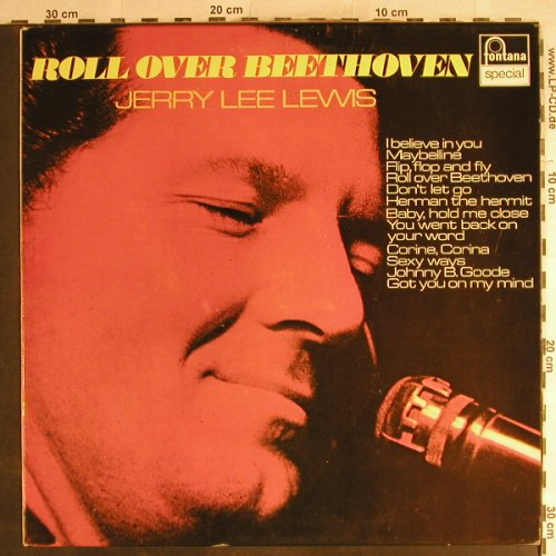 Lewis,Jerry Lee: Roll over Beethoven, Fontana Sp.(6430 073), D,  - LP - H7127 - 6,50 Euro