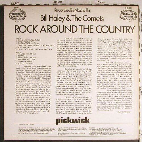Haley,Bill: Rock Around The Country-..Nashville, Hallmark(SHM 837), UK, 1971 - LP - H7130 - 5,50 Euro