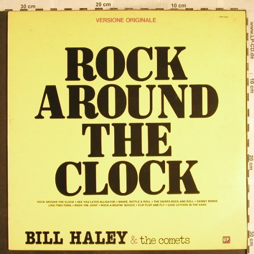 Haley,Bill & Comets: Rock Around The Clock, UP(LPUP 5164), I, 1978 - LP - H7131 - 5,50 Euro