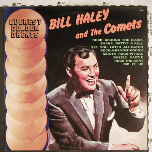 Haley,Bill & Comets: Everest Golden Greats, Everest(EV-4110), US,  - LP - H7132 - 6,50 Euro