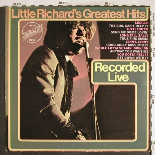 Little Richard: Greatest Hits-Recorded Live, Embassy(EMB 31065), NL,Ri, 1967 - LP - H7140 - 5,50 Euro