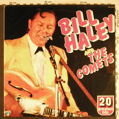 Haley,Bill & Comets: 20 Greatest Hits, Lotus(LOP14016), I, 1982 - LP - H7141 - 4,00 Euro