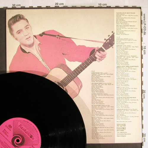 Presley,Elvis: Rock-And-Roll, vg+/m-, Balkanton(12061), Bulgaria,  - LP - H7168 - 7,50 Euro