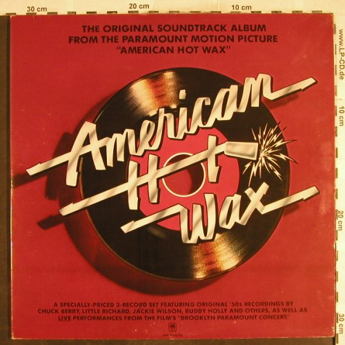 V.A.American Hot Wax: Big Beat Band...Spaniels, Foc, AM(AMLM 66500), UK, 1978 - 2LP - H7180 - 7,50 Euro
