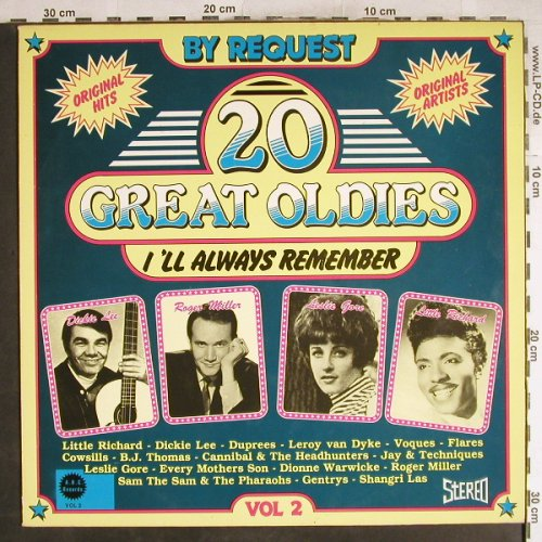 V.A.20 Great Oldies-I'll always...: Vol.2-Little Richard...Shangri Las, ARC Records(005-80), NL,Ri, 1982 - LP - H7679 - 6,00 Euro