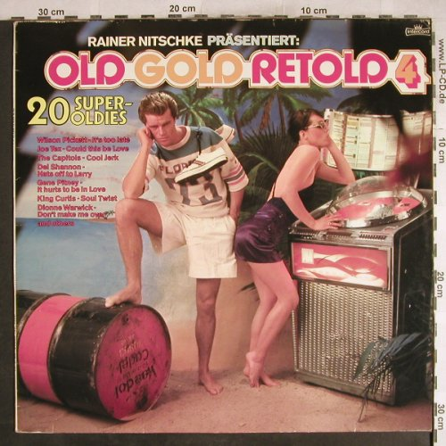 V.A.Old Gold Retold Vol.4.-Nitschke: Capitols...Shirelles, Intercord(INT 153.603), D, 1977 - LP - H7681 - 4,00 Euro