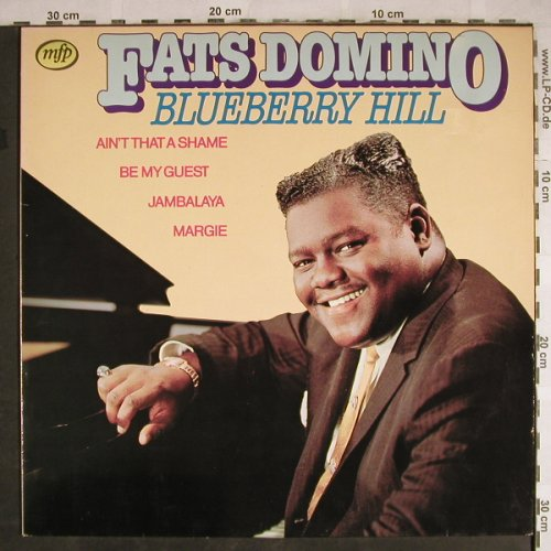 Domino,Fats: Blueberry Hill, MFP(1A 022-58093), NL, 1980 - LP - H7820 - 4,00 Euro