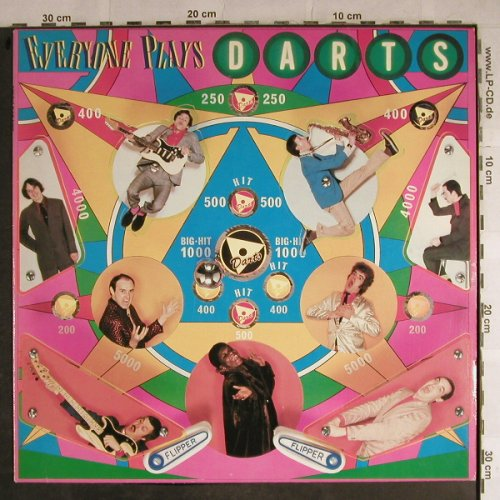 Darts: Everyone Plays Darts, Magnet(064 CRY 61 161), D, 1978 - LP - H8812 - 6,00 Euro