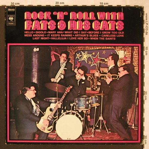 Fats & the Cats: Rock 'n' Roll with,Starclub, m-/vg+, CBS(S 53 253), NL, Ri, 1975 - LP - X1877 - 40,00 Euro