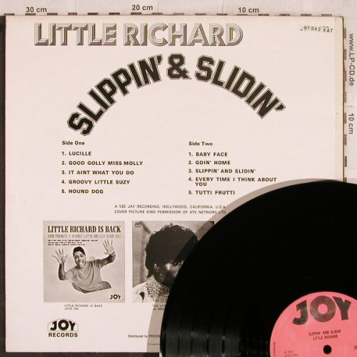 Little Richard: Slippin' & Slidin, JOY(JOYS 270), UK, 1964 - LP - X214 - 15,00 Euro