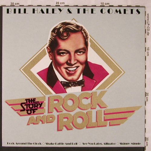 Haley,Bill & Comets: The Story Of Rock and Roll, Ariola(200 734-241), D, 1979 - LP - X2390 - 5,00 Euro