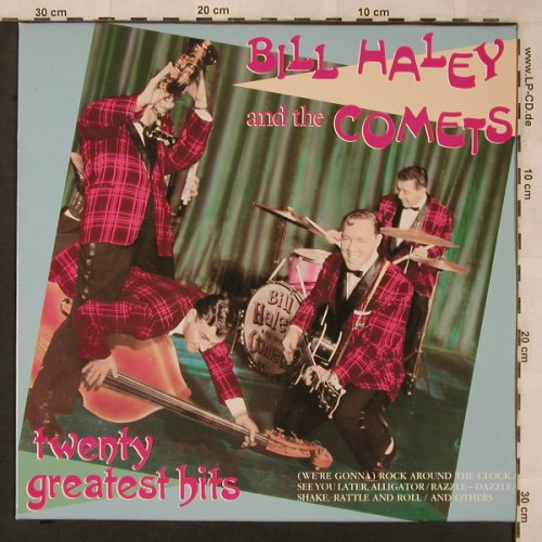 Haley,Bill & the Comets: Twenty Greatest Hits, Black Tulip(2636741), NL, Ri,  - LP - X2433 - 5,50 Euro