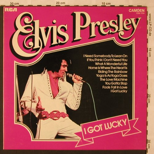 Presley,Elvis: I Got Lucky, RCA Camden/Pickwick Ed.(CDS 1154), UK,  - LP - X2442 - 7,50 Euro