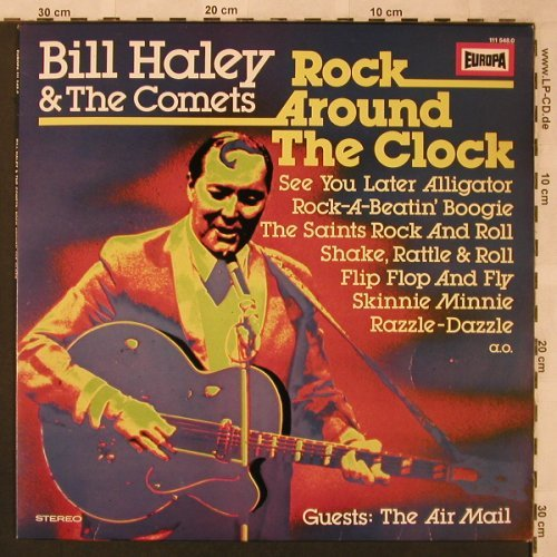 Haley,Bill & Comets: Rock Around The Clock, Europa(111 548.0), D,  - LP - X2446 - 5,00 Euro
