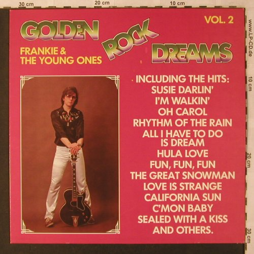 Frankie & the Young Ones: Golden Rock Dreams, Vol.2, Aladin(ALA 25 148), D, 1982 - LP - X2793 - 6,00 Euro