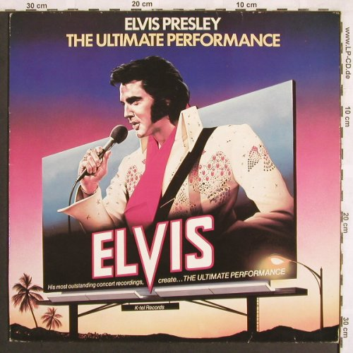 Presley,Elvis: The Ultimate Performance, K-tel(NE 1141), UK, 1981 - LP - X3221 - 7,50 Euro