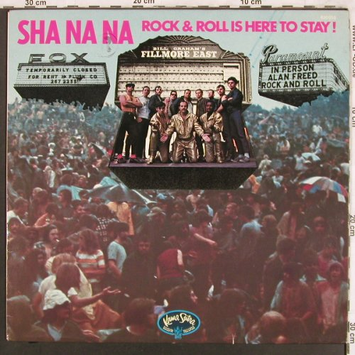 Sha Na Na: Rock and Rollis here to stay, Kama Sutra(620 010), D, 1969 - LP - X3791 - 7,50 Euro