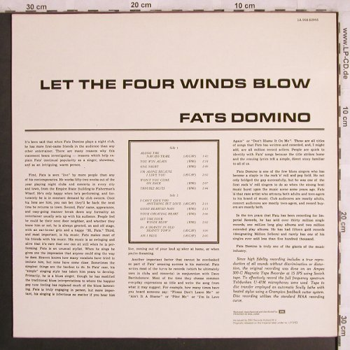 Domino,Fats: Let the Four Winds Blow, Liberty(1A 058-82993), NL, Ri,  - LP - X4008 - 5,50 Euro