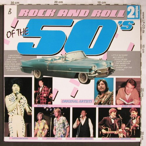 V.A.Rock & Roll of the 50's: Volume 2, Foc, K-tel(KTLP 6251), UK, 1985 - 2LP - X4755 - 5,50 Euro