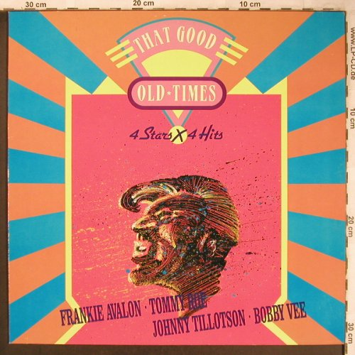 V.A.That Good Oldtime: Fr.Avalon,T.Roe,Tillotson,Bobby Vee, Bellaphon(230 07 128), D, 1989 - LP - X4839 - 4,00 Euro