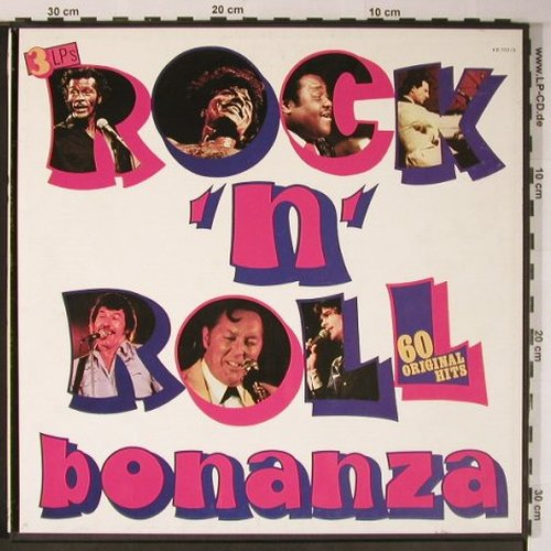 V.A.Rock'n'Roll Bonanza: 60 original Hits, Box, no Booklet, Lotus(KB 702/3), I, 1983 - 3LP - X6078 - 7,50 Euro