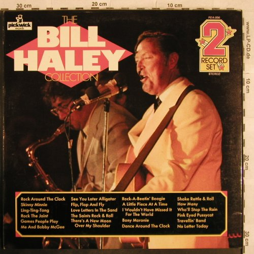 Haley,Bill: The B.H.Collection,Foc, Pickwick(PDA 006), UK, 1971 - 2LP - X696 - 7,50 Euro