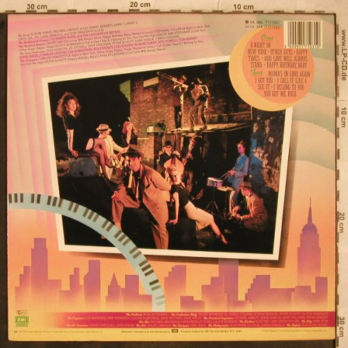 Elbow Bones & The Racketeers: New York At Dawn, EMI(7171031), NL, 1983 - LP - X737 - 6,00 Euro