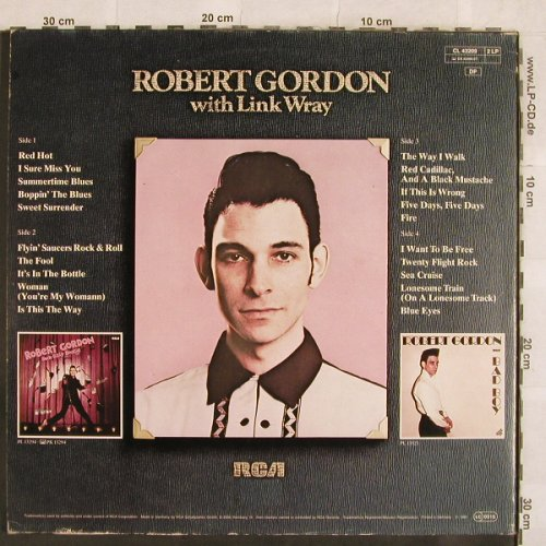 Gordon,Robert with Link Wray: That's Rock'n'Roll, Foc, RCA Musterplatten(CL 43209), D, 1980 - 2LP - X95 - 9,00 Euro