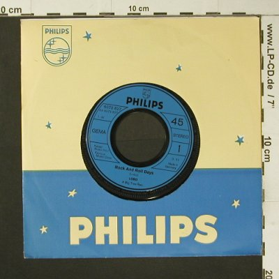 Lobo: Rock and Roll Days, FLC, Philips(6073 827), D,  - 7inch - S7304 - 2,50 Euro