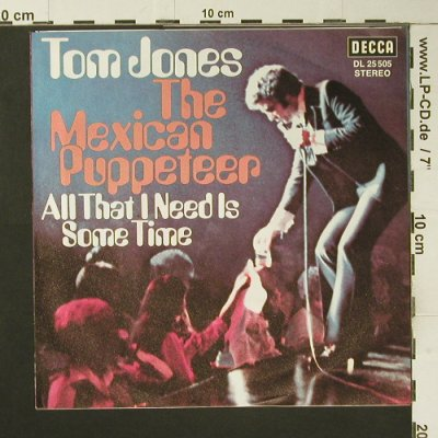 Jones,Tom: The Mexican Puppeteer, Decca(DL 25 505), D, 1972 - 7inch - S7307 - 2,50 Euro