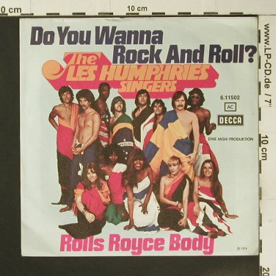 Les Humphries Singers: Do you want Rock and Roll ?, Decca(6.11502), D, 1974 - 7inch - S7311 - 2,50 Euro