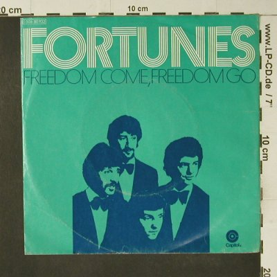 Fortune: Freedom Come, Freedom Go, m-/vg+, Capitol(C 006-80 932), D,  - 7inch - S7414 - 2,00 Euro