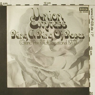 Union Express: Ring A Ring Of Roses/Emily Knows, Decca(DL 25 482), D, 1971 - 7inch - S7464 - 3,00 Euro