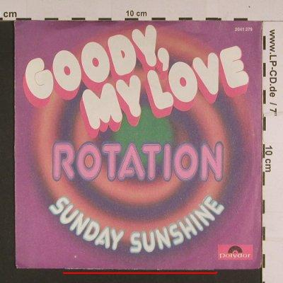 Rotation: Goody, my Love, m-/vg -, Polydor(2041 279), D, 1972 - 7inch - S7680 - 1,00 Euro