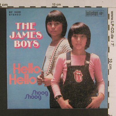 James Boys: Hello Hello / Shoog Shoog, Bellaphon(BF 18200), D, 1973 - 7inch - S7814 - 2,50 Euro